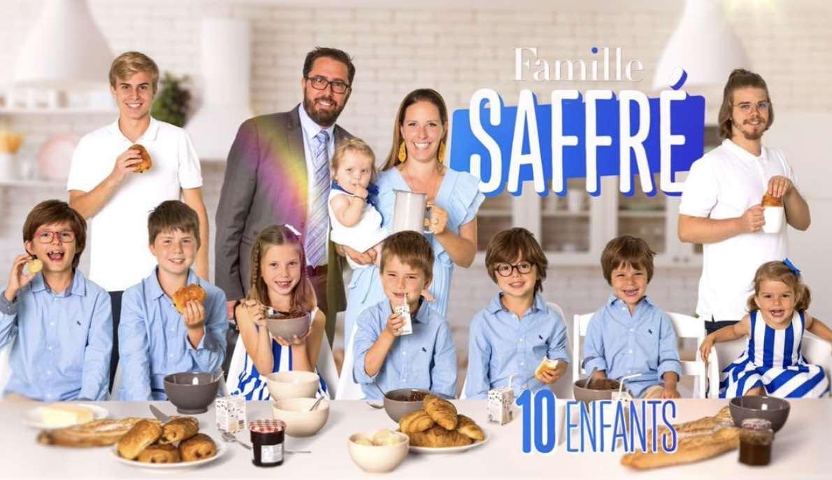Familles nombreuses - Familles nombreuses la vie en XXL - Famille Saffré -