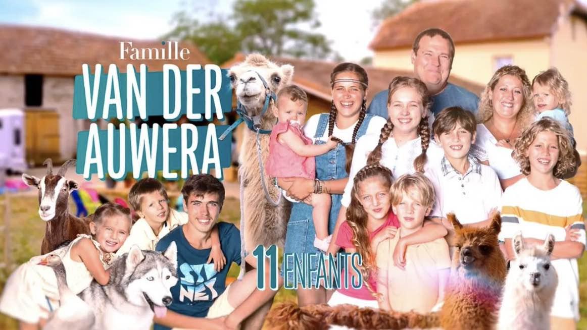 Familles nombreuses - Familles nombreuses la vie en XXL - Famille Van der auwera -