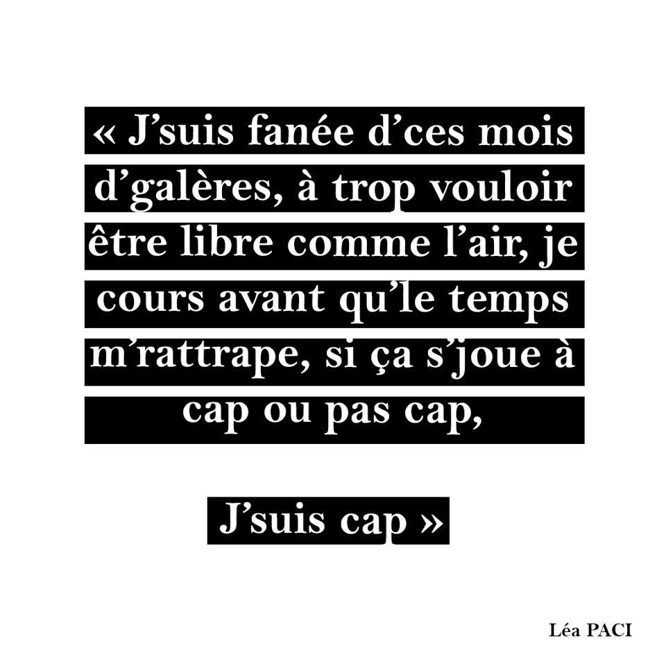 Léa Paci - retour -