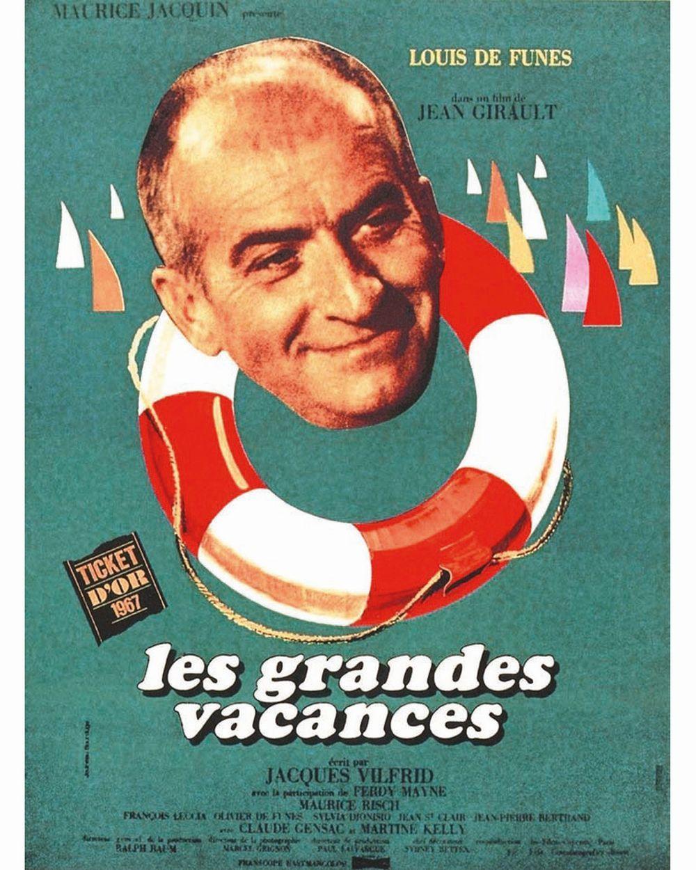 Les grandes vacances - Louis de Funès -