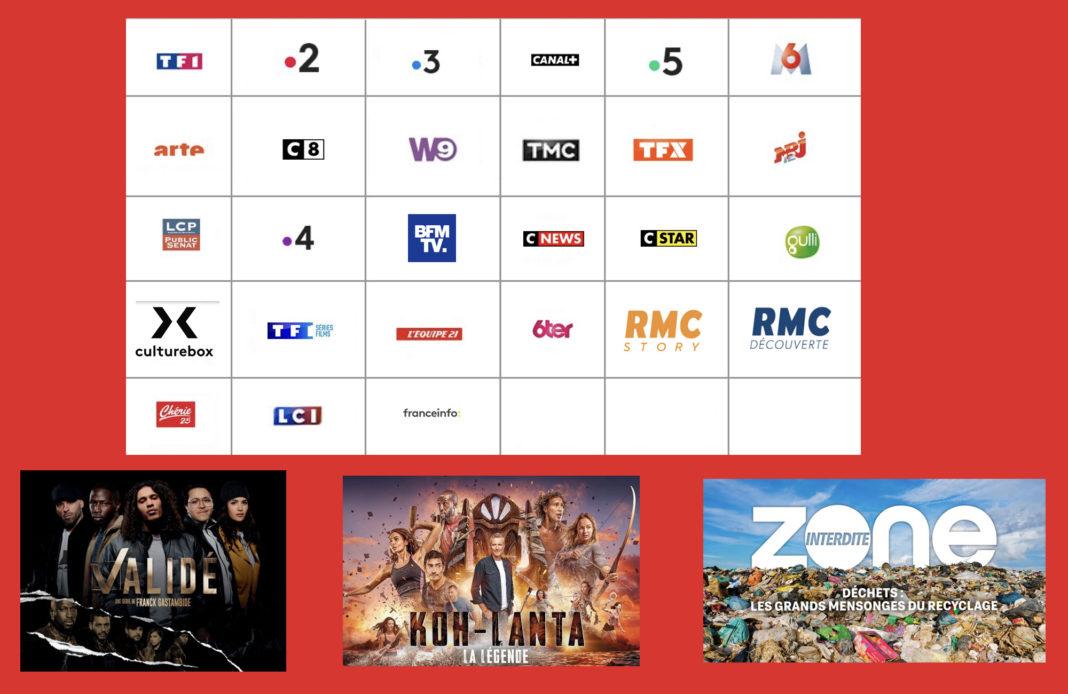 Programme tv - sélection tv - Validé saison 2 - Koh Lanta la légende - Zone interdite déchets -