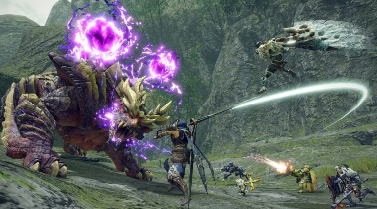 monster hunter rise PS4 PS5 Switch capcom atelier gust koeitecmo nippon ichi software smartphone ios android sega sin chronicle