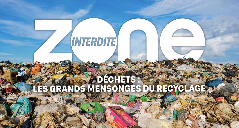 Zone interdite - déchets - M6 -