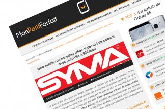 Syma mobile : de nouvelles offres et des forfaits boostés avec data dès 4,90€/mois