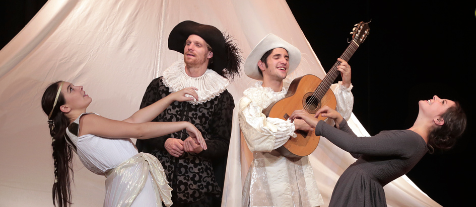 Les Fourberies de Scapin - Molière - Jean-Philippe Daguerre - Theatre - Saint Georges - Paris - Spectacle - Enfants - Rires - Syma News - Syma Mobile - Florence Yérémian