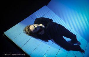 William Mesguich - Victor Hugo - Le dernier jour d'un condamné - Syma Mobile - Syma News - Florence Yérémian - Théâtre - Peine de Mort - Death - Tot - Mesguich - Drame - Coupable - Guilty - Palais de justice - Paris