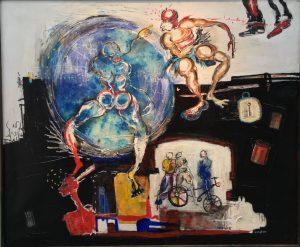 Art Paris - Arts - Grand Palais - Expo- expositions - culture - peinture - Zingpe - Syma News - Florence Yérémian