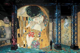 L'Atelier des lumières - culturespaces - Paris - Art - Klimt - Schiele - Vienne - Hundertwasser - exposition