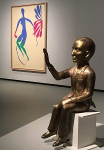 LVMH - Au diapason du monde - Fondation Vuitton - Bernard Arnault - Syma Mobile - Syma News - Giacometti - Klein - Expo - Matisse - Florence Yérémian - Kiki Smith - Sculpture - Arts