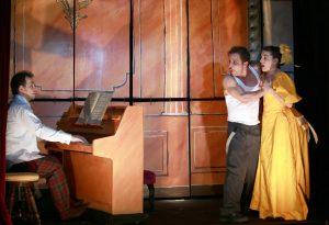 Comédiens ! - Théâtre de la Huchette - Samuel Sené - Musicals - Comédie musicale - vaudeville - jazz - Marion Preité - Fabian - Syma Mobile - YérémianRichard - Cyril Romoli
