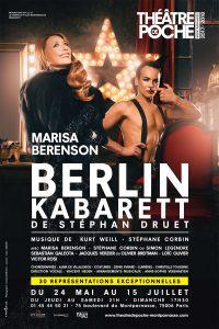 Berlin Kabarett - Music Hall - Marisa Berenson - Sebastian Galeota - Cabaret - Théâtre de Poche - Stéphan Druet - Kurt Weill - Stéphane Corbin - Nazi - Juif - Weimar - Homosexual - Gay - Travesti - LGBT - Syma News - Syma Mobile - Florence Yérémian