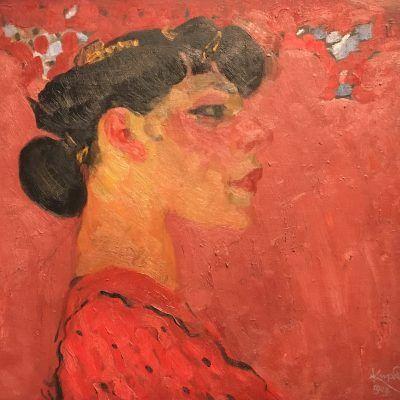 Kupka - Autoportrait - Grand Palais - Arts - Musée - Museum - Peintre - Peinture - Huile - Sortir - Beauté - Paris - Art - Peinture - Abstraction - Exposition - RMN - Fauvisme - Kunst - Abstraction - Fauve