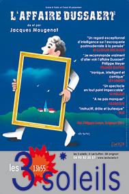 L'affaire Dussaert - Festival Avignon 2018 - SYMA Mobile - SYMA News - Florence Yérémian - Jacques Mougenot - Art - Art Contemporain - Supercherie - Théâtre - Spectacle - Off18
