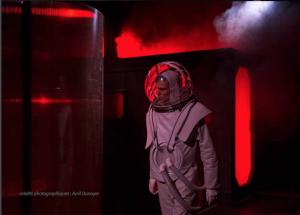 Solaris - Theatre de Belleville - Remi Prin - SF - Science Fiction - Lem - Paris - Thibault Truffert - Syma News - Syma Mobile - Florence Yérémian - Space - Paris