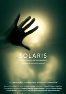 Solaris - Theatre de Belleville - Remi Prin - SF - Science Fiction - Lem - Paris - Thibault Truffert - Syma News - Syma Mobile - Florence Ye?re?mian - Space - Paris