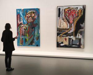 Basquiat - Egon Schiele - LVMH - Fondation Louis Vuitton - Dessin - Expo - Exhibition - dos - Syma News - Syma Mobile - Florence Yérémian