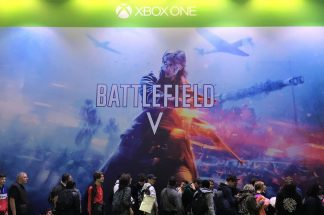Paris Games Week salon jeu video gamer EA Battlefiled BF5 FPS PS4 Xbox One
