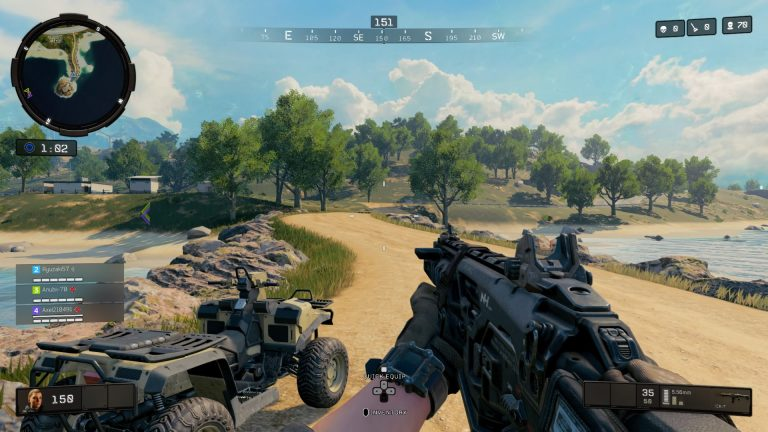 Call of Duty Black Ops 4 PS4 FPS Battle Royale Blackout shooter Specialiste Multijoueur
