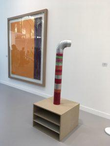 FIAC 2018 - Art Contemporain - Paris - Artistes - Paintings - Sculpture - Moderne - grand Palais - SYMA News - SYMA Mobile - Florence Yeremian - tube - tuyau - art conceptuel - connerie - imposture