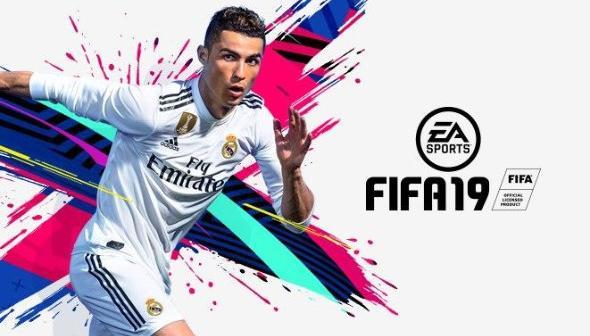 FIFA 19 PS4 Xbox One Foot Ronaldo EA