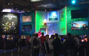 Paris Games Week salon gamer PS4 Xbox One SquareEnix Kingdom Hearts