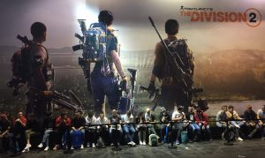 Paris Games Week salon gamer PS4 Xbox One Ubisoft The Division RPG TPS