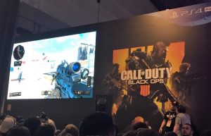 Paris Games Week salon jeu video gamer Activision Call of Duty Black Ops FPS