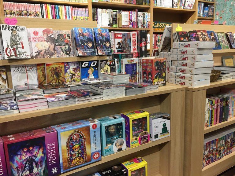 le renard dore manga anime goodies japon