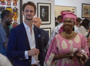 Jonathan Johanssen - Congo - Brazzaville - Art - Syma News - Syma Mobile - Brazza Art Galerie - l'Ambassade du Sénégal