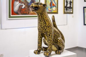 Lyolo - Sculpture - Congo Brazzaville - Afrique -Syma News - Syma Mobile - Florence Yeremian - Exposition