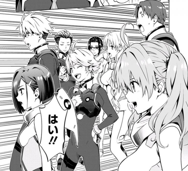 Darling in the FranXX manga kenaro yabuki ecchi shonen