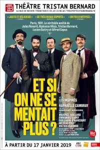 Et si on ne se mentait plus - The?a?tre - Tristan Bernard - Paris - Come?die - Guitry - Syma News - Syma Mobile - Florence Yeremian