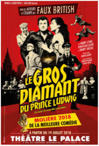 Le gros diamant du prince ludwig - Theatre - Palace - Syma News - Florence Yeremian - Syma Mobile - Comedie - Molieres - Rires