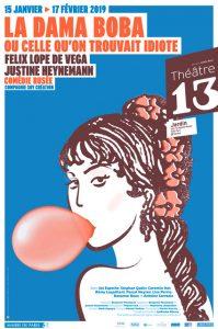 La Dama Boba - Theatre 13 - Florence Yeremian - SYMA News -Lope de Vega - Justine Heynemann
