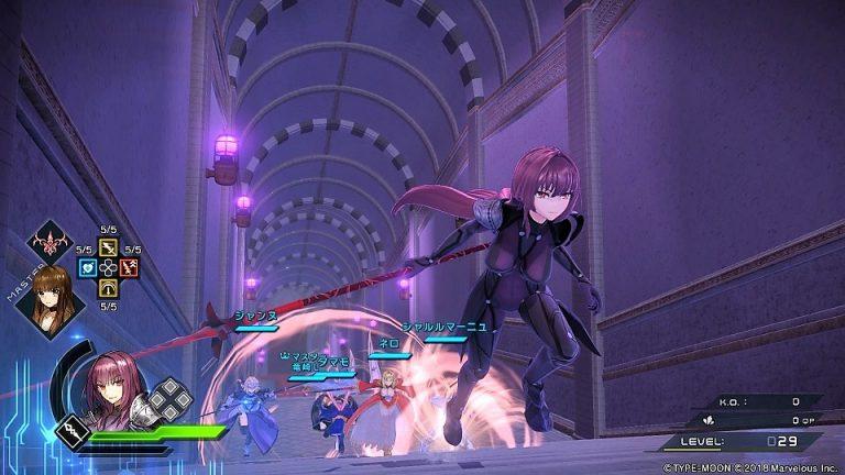 Fate Extella Link Marvelous PS4 action RPG jeu de roles