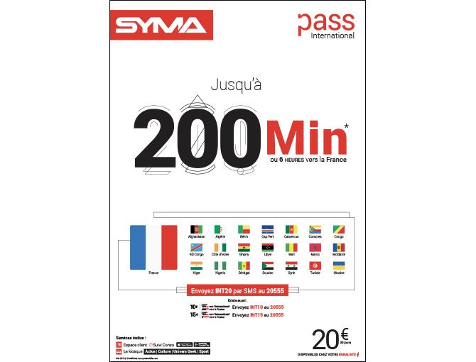 Affiche Pass International - Mai 2019