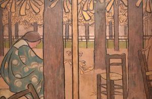 les nabis - art nabis - nabis - décor - musée du luxembourg - Arts déco - arts décoratifs - décoration - expo - exposition - syma news - florence yeremian - maurice denis - bonnard - vuillard - sérusier - artistes - painting - peintres - art - artisanat - exhibition - peinture - âravent - eventail - arts and crafts - artist - spiritisme - symbolisme - naif - appalts - douceur
