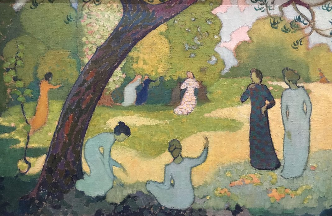 les nabis - art nabis - nabis - décor - musée du luxembourg - Arts déco - arts décoratifs - décoration - expo - exposition - syma news - florence yeremian - maurice denis - bonnard - vuillard - sérusier - artistes - painting - peintres - art - artisanat - exhibition - peinture - âravent - eventail - arts and crafts - artist - spiritisme - symbolisme - naif - appalts - douceur