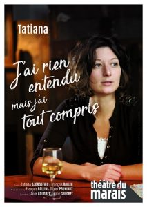 Tatiana Djordjevic - serbe - syma news - florence yeremian - humor - humoriste - humour- stand up - spectacle - paris - show - one man show - one woman show - Rire - rires - balkans - Serbie - Famille - family - amour - intelligence - QI - intello - Théâtre