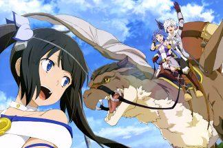 is it wrong to pick girls in dungeons danmachi arrow of the orion familia myth bell hestia artemis grand rex wakanim anime manga cinéma
