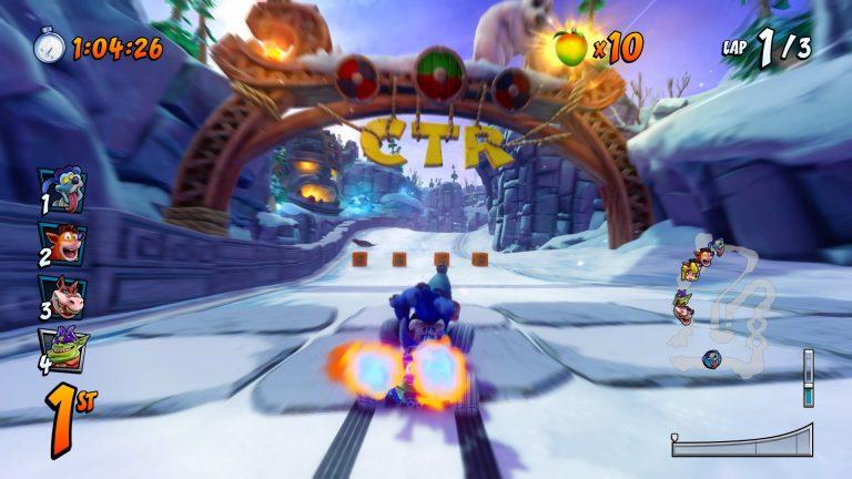 Crash Team Racing Nitro Fueled PS4 Xbox One Switch Sony jeu vidéo course objets kart Beenox Activision Crash Bandicoot