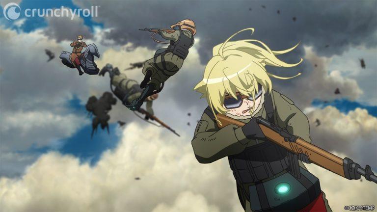 Saga of Tanya the Evil Yôjo Senki Kadokawa light novel animé animation japonaise japon guerre science fiction film cinéma crunchyroll