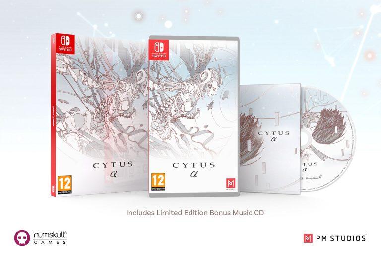 Cytus Alpha rythme jeu vidéo Numskull Games Nintendo Switch collector design musique pop symphonique Japon Corée Rayark