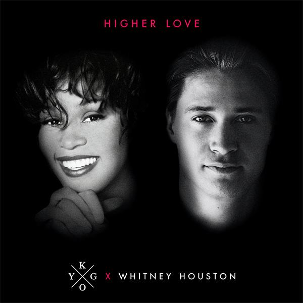 Kygo - Whitney Houston - Pochette - Higher Love