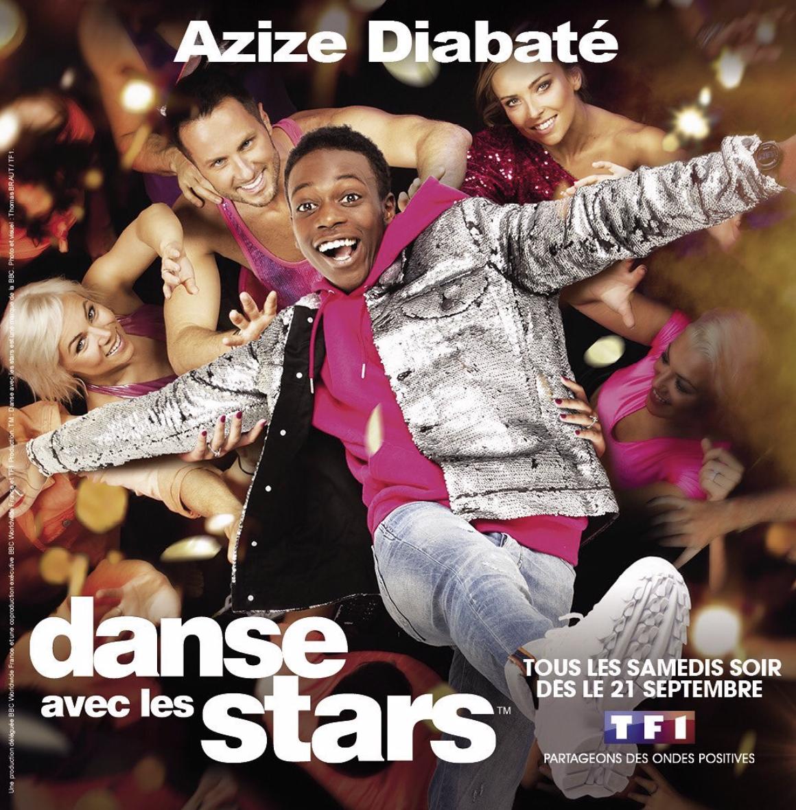 Azize Diabate - DALS 10 - DALS - Danse Avec Les Stars 10 - Danse Avec Les Stars - TF1 - Denitsa Ikonomova