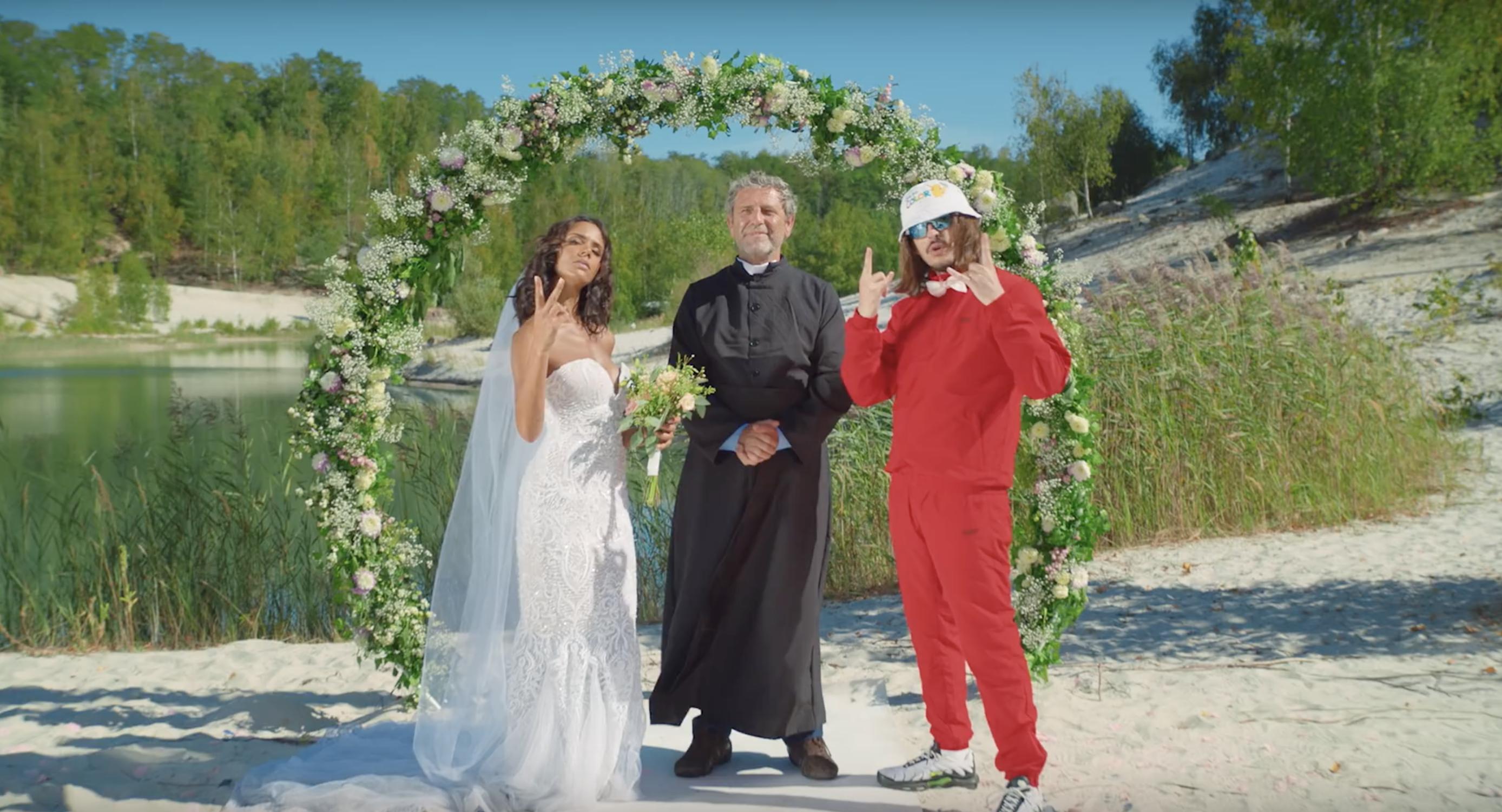 Lorenzo - Shy'm - Nous deux - clip - mariage