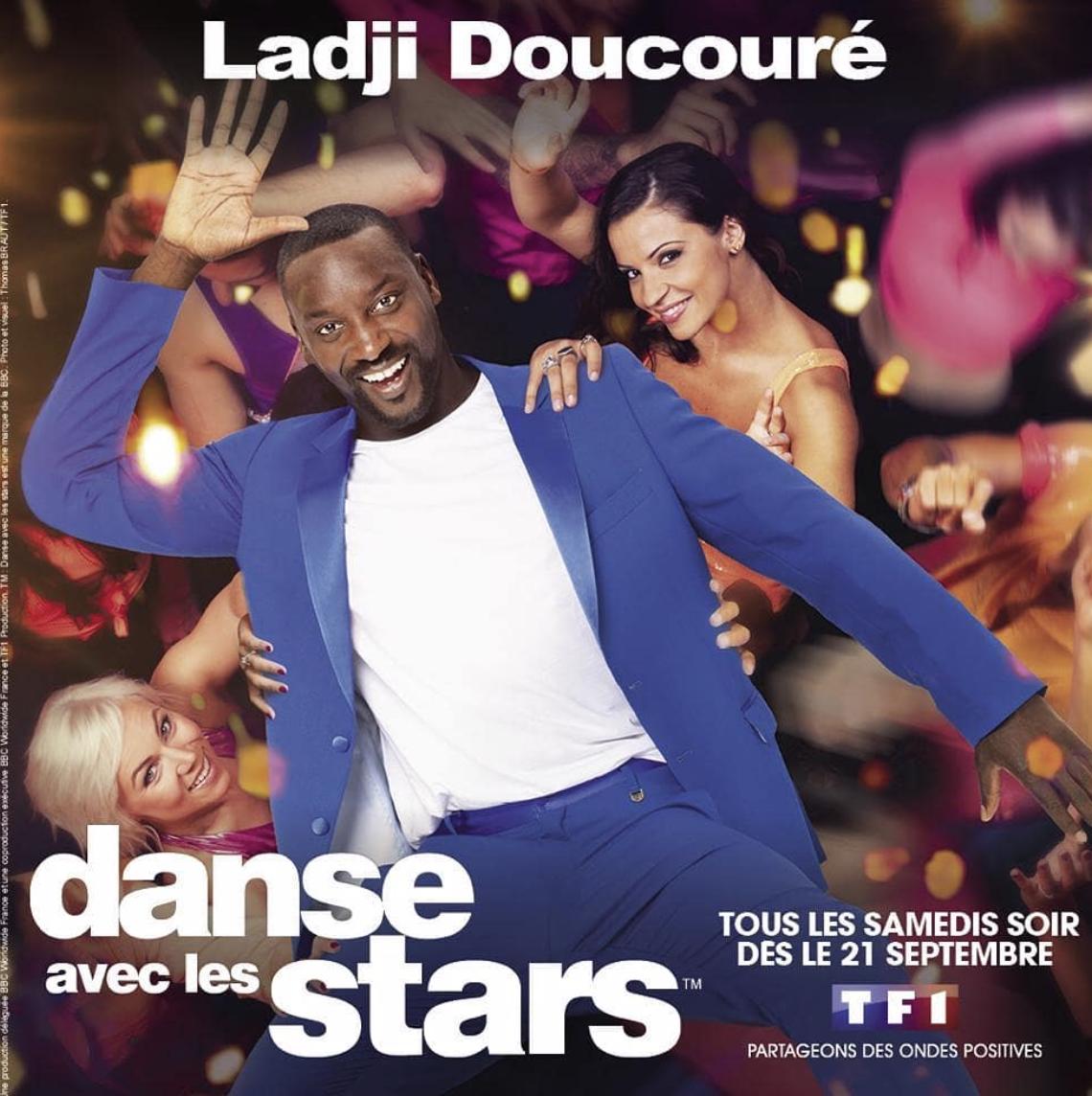 Ladji Doucoure - DALS 10 - DALS - Danse Avec Les Stars 10 - Danse Avec Les Stars - TF1 - Ines Vandamme