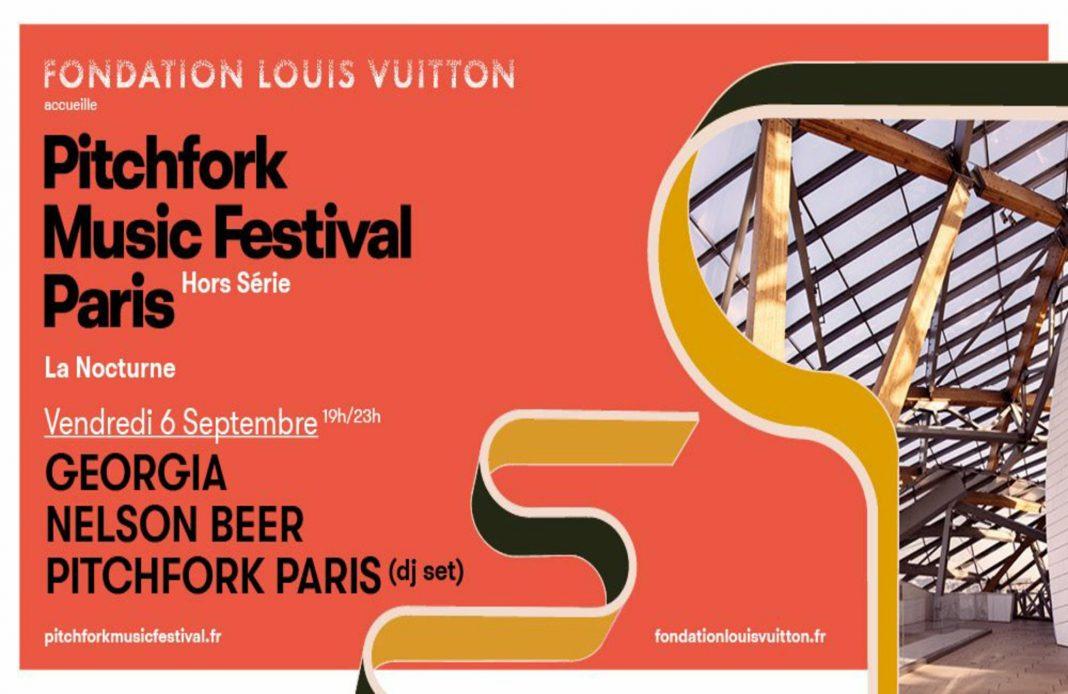 Pitchfork Music Festival - Paris Hors série - Fondation Louis Vuitton - nocturne