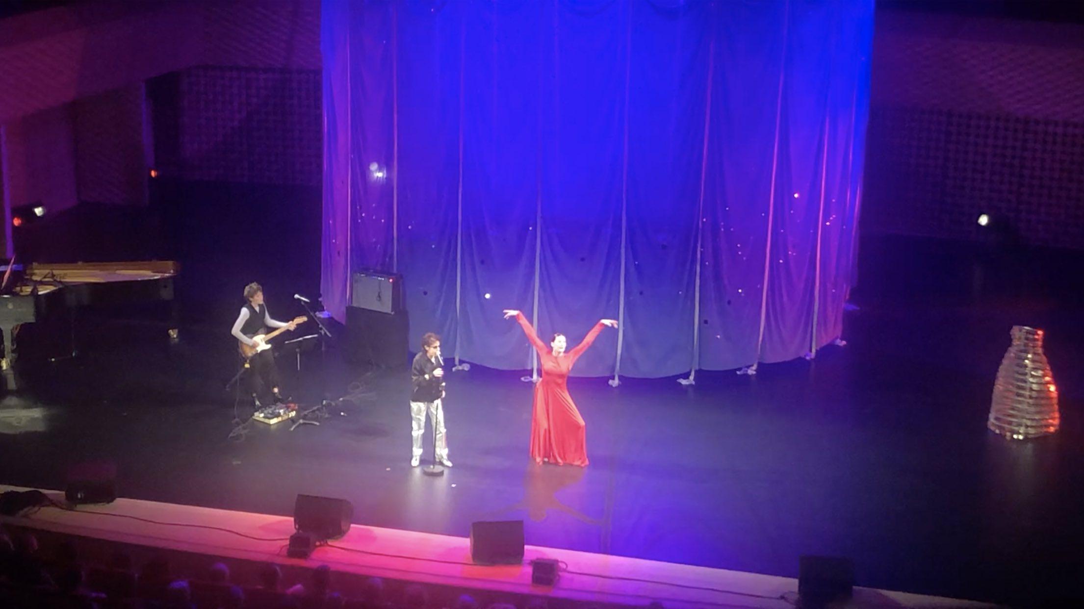 Dani - Marie Agnès Gillot - Seine musicale - danse la chante là