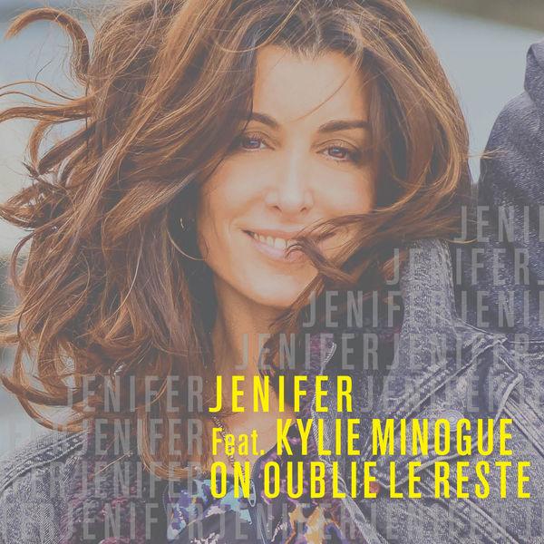 Jenifer - On oublie le reste - Kylie Minogue - pochette - Nouvelle Page - réedition